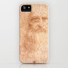 Classic Art - Leonardo da Vinci by Leonardo da Vinci iPhone Case