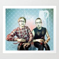 Buddies Art Print