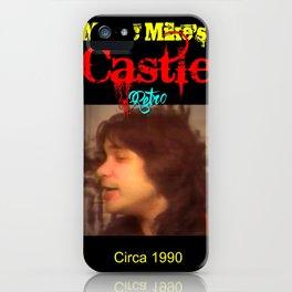 Magic Mike's Castle (Retro 1990 Version) iPhone Case