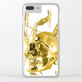 Golden Thoughts Clear iPhone Case