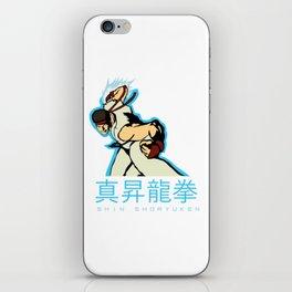 SHIN SHORYUKEN iPhone Skin