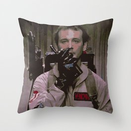 Venkman Throw Pillow