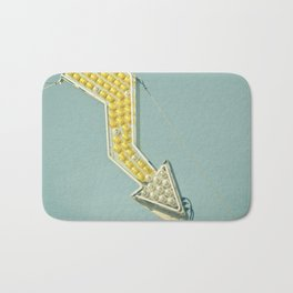 Golden Arrow Bath Mat