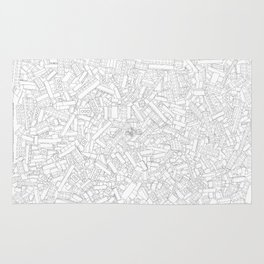 The Lego Movie —Colouring Book Version Rug
