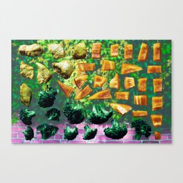 Veggy Time Canvas Print