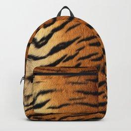 Tiger Skin Print Backpack