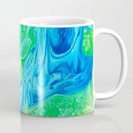 Blue & Green So Clean Coffee Mug