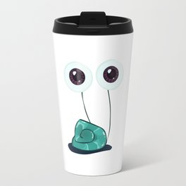 Happy Garden Snail Travel Mug