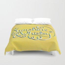 Sunshine & Whiskey Duvet Cover