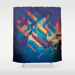 City Sound Shower Curtain