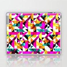 Textural Aztec Geometric  Laptop & iPad Skin