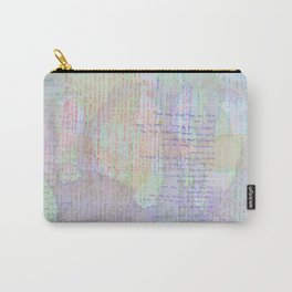 Words and Water Paint Carry-All Pouch