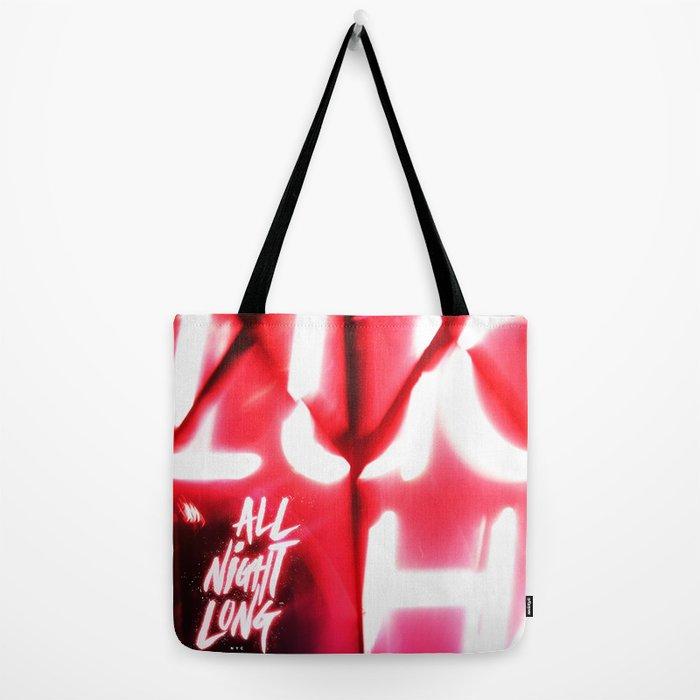 All Night Long NYC Tote Bag