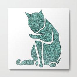 Sassy Cat Metal Print
