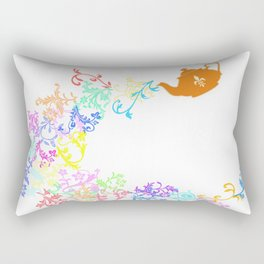Tea series: Magic teapot Rectangular Pillow