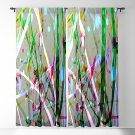 Abstract No. 4 Blackout Curtain