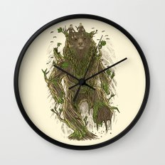 Treebear Wall Clock