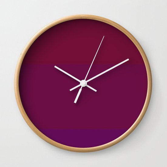 Re-Created Playing Field VII by Robert S. Lee Wall Clock