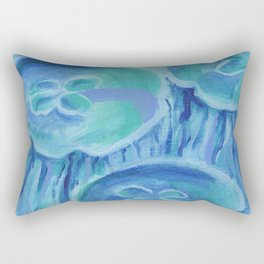 Striated Jelly Moons Rectangular Pillow