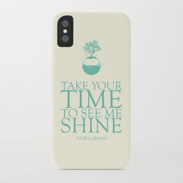 Top Of This Wonderful World iPhone Case