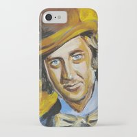 willy wonka iPhone & iPod Cases featuring Willy Wonka by Buffalo Bonker