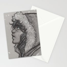 Ash and Snow Stationery Cards