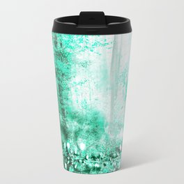 279 3 Turquoise Forest Travel Mug