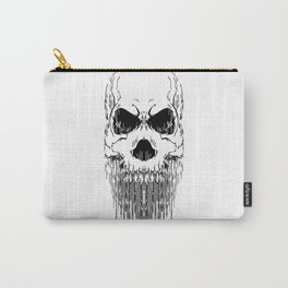 FULL FACE SKULL Carry-All Pouch