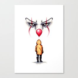 They All Float Canvas Print