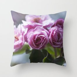 Springtime Pink II Throw Pillow