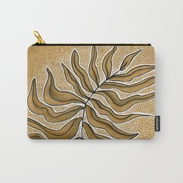 Meditation Leaf Carry-All Pouch