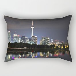 Toronto Skyline Rectangular Pillow