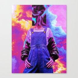 Abstra Canvas Print