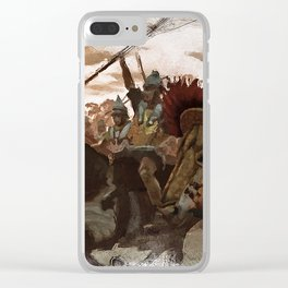 Ancient Warriors Clear iPhone Case