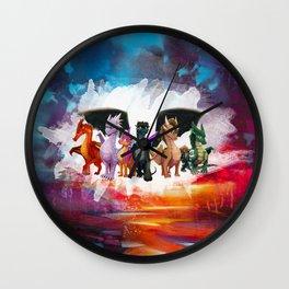 Wings Of fire Light dragon Wall Clock