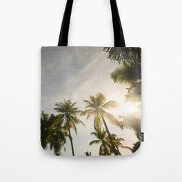 Palm Trees. Tote Bag