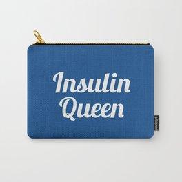 Insulin Queen Script (Lapis) Carry-All Pouch