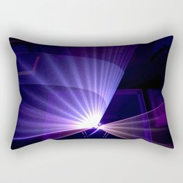 Violet laser Rectangular Pillow