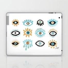 Evil Eye Illustration Laptop & iPad Skin