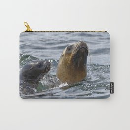 sea lion (Otaria flavescens) Carry-All Pouch