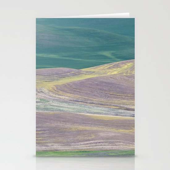 Palouse Abstract I Stationery Cards