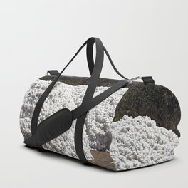 Heap of Freshly Harvested Cotton Duffle Bag