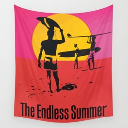 California Summer Surf from The Endless Waves Wall Tapestry