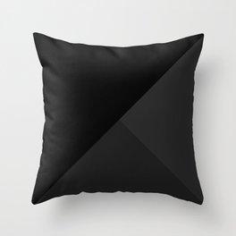 Trinity Color Block Black 262626 Spring Summer Throw Pillow