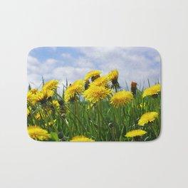 Dandelion meadow Bath Mat