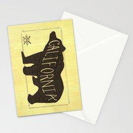 California Black Bear  Stationery Cards
