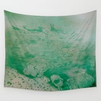 under the sea Wall Tapestries featuring Under The Sea by ANoelleJay