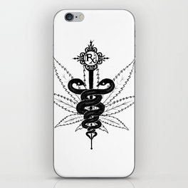 Smoke your meds iPhone Skin
