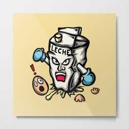 Bad Milk! Metal Print