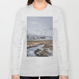 Heading to the Mountains - Landscape and Nature Photography Long Sleeve T-shirt